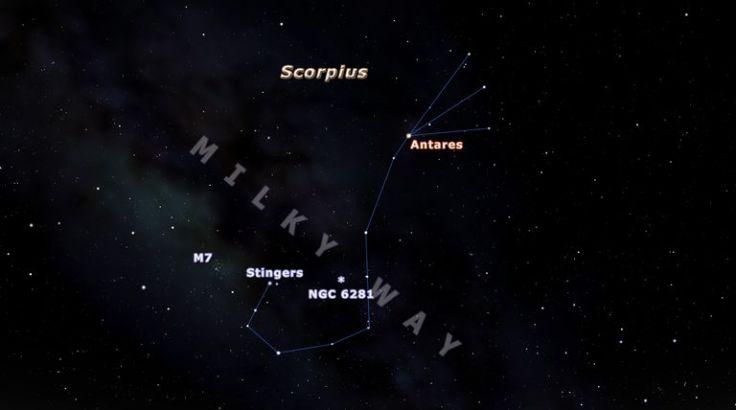 how to spot scorpio nebula