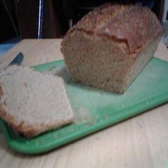 inside view bread loaf